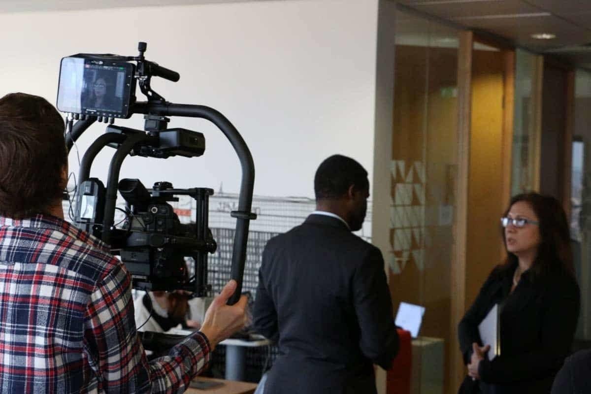 gimbal operator london corporate film production multilingual