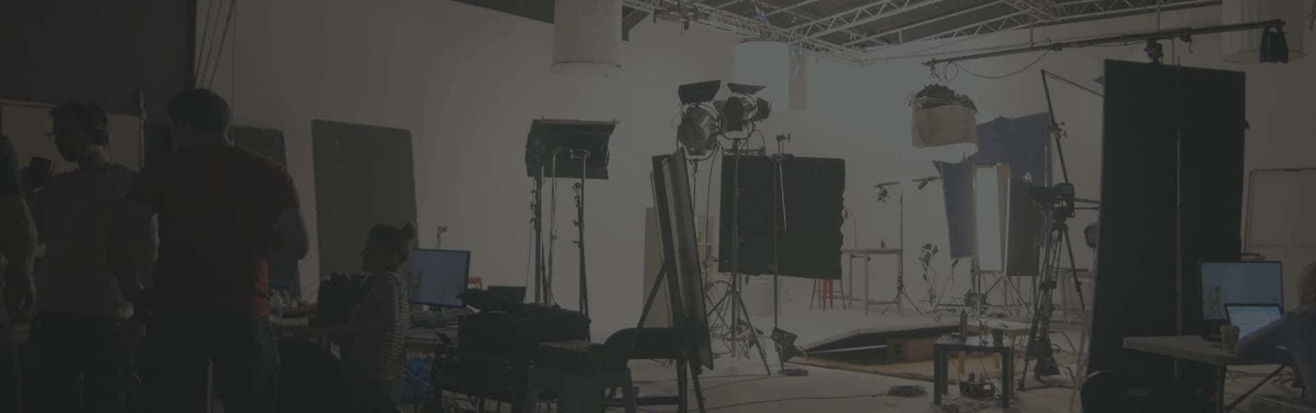 product filming, white studio speaker videos