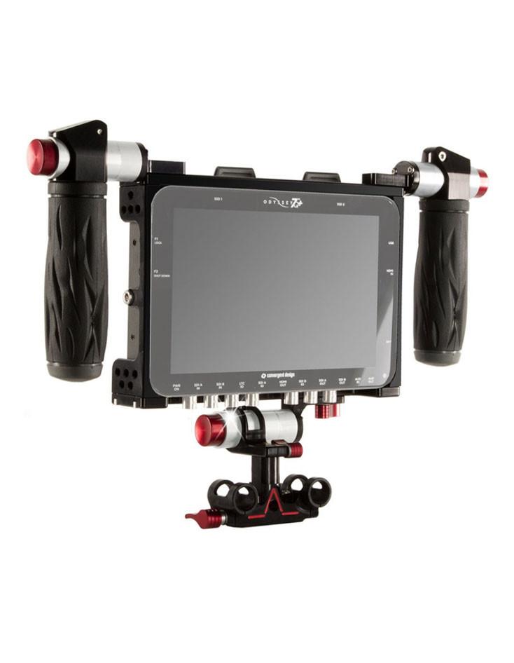 movi pro gimbal kit hire london - odyssey 7q+ monitor RAW